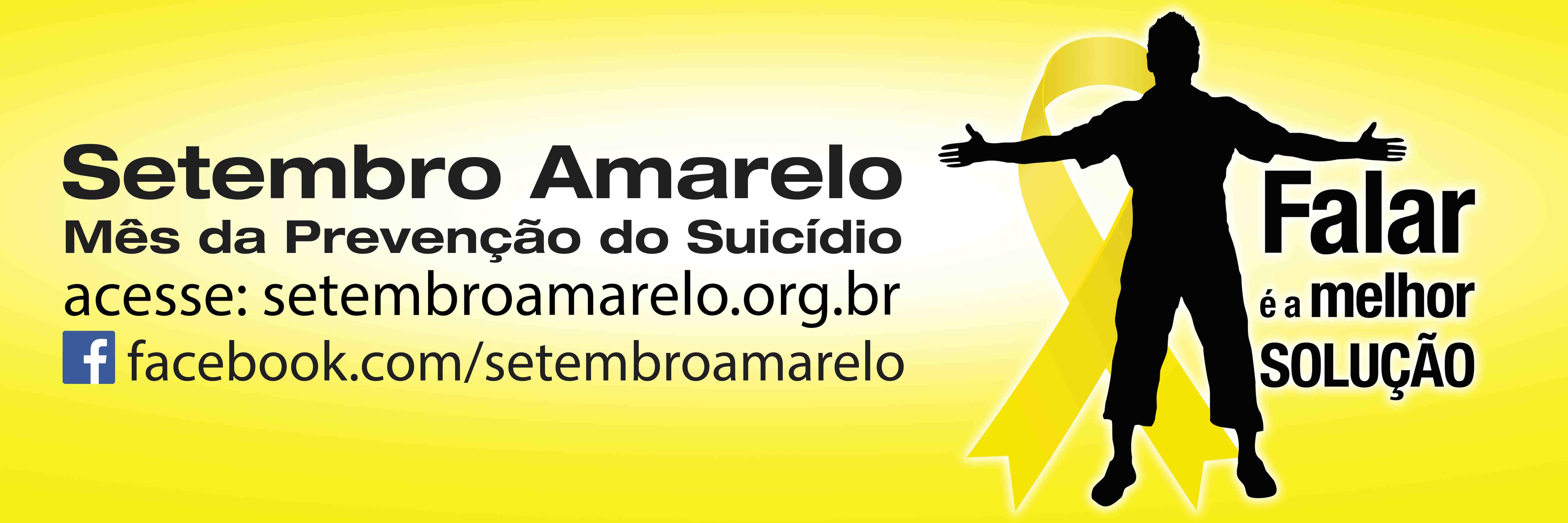 Setembro Amarelo Mês De Conscientização Do Suicídio Morte